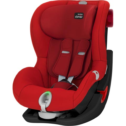 Britax Romer Cadeira Auto King II LS Black Series - Flame Red