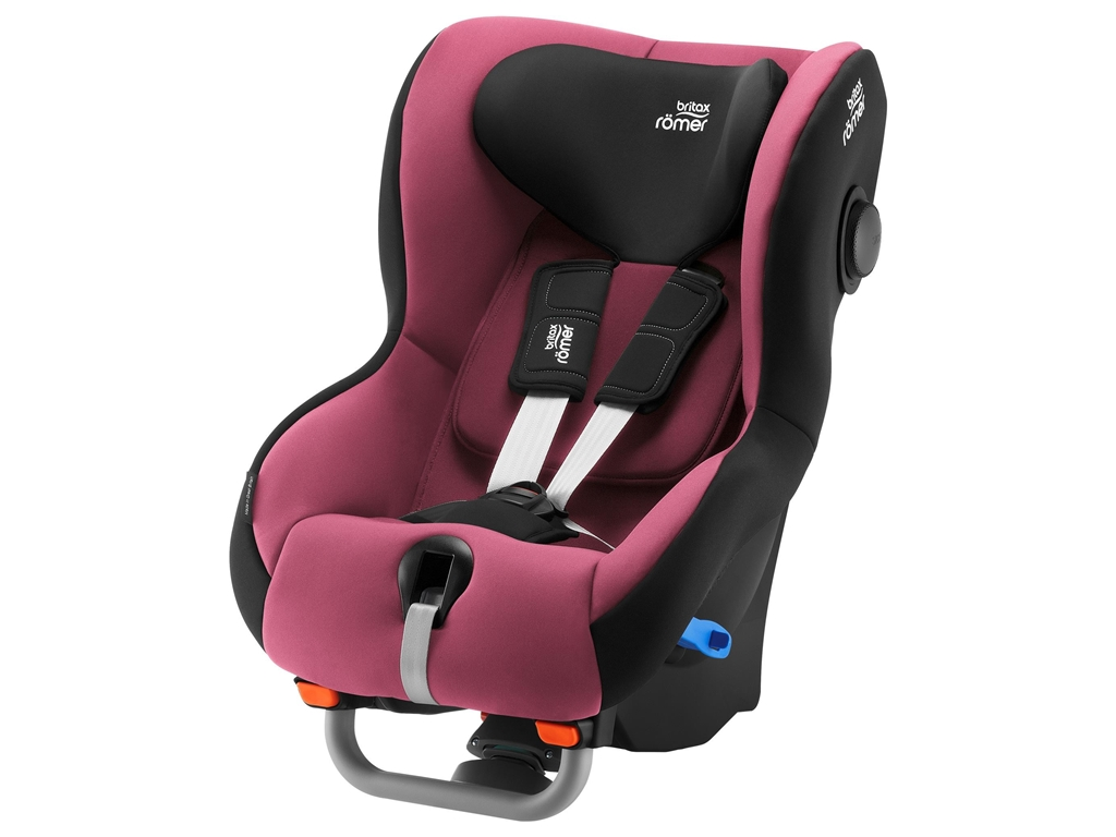 Britax Romer Cadeira Auto Max-Way Plus - Wine Rose