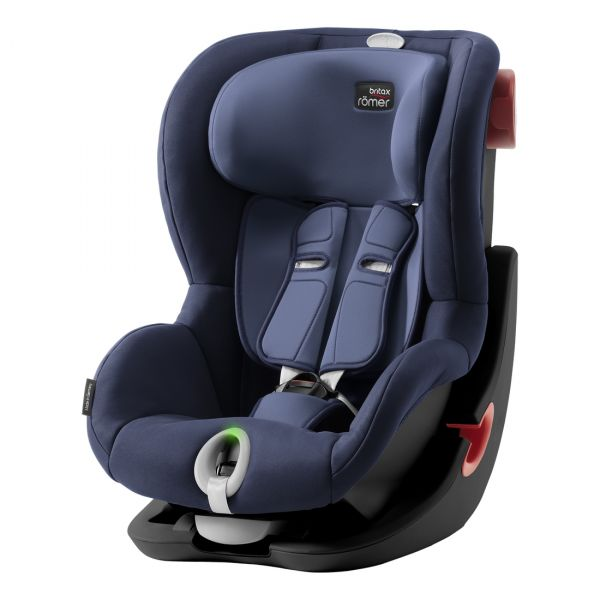 Britax Romer Cadeira Auto King II LS Black Series - Moonlight Blue