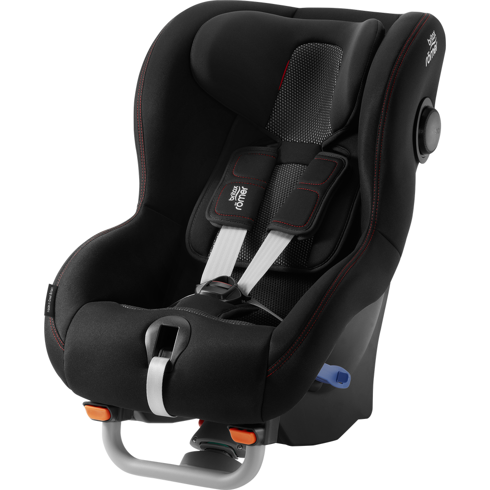 Britax Romer Cadeira Auto Max-Way Plus - Cool Flow Black