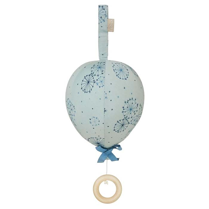 CamCam Music Mobile, Balloon w/ velcro loop OCS - Dandelion Petrol