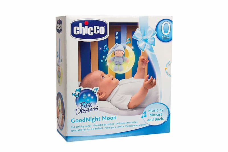 Chicco First Dreams Painel de berço Goodnight Moon - Azul